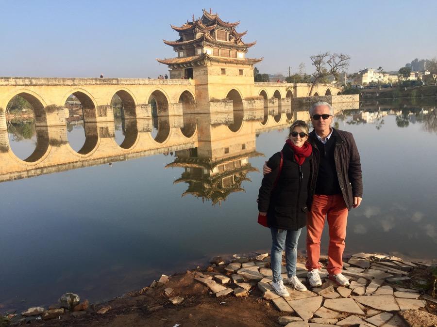 Fabrice et Margaux: de Jinghong à Kunming (6 jours)
