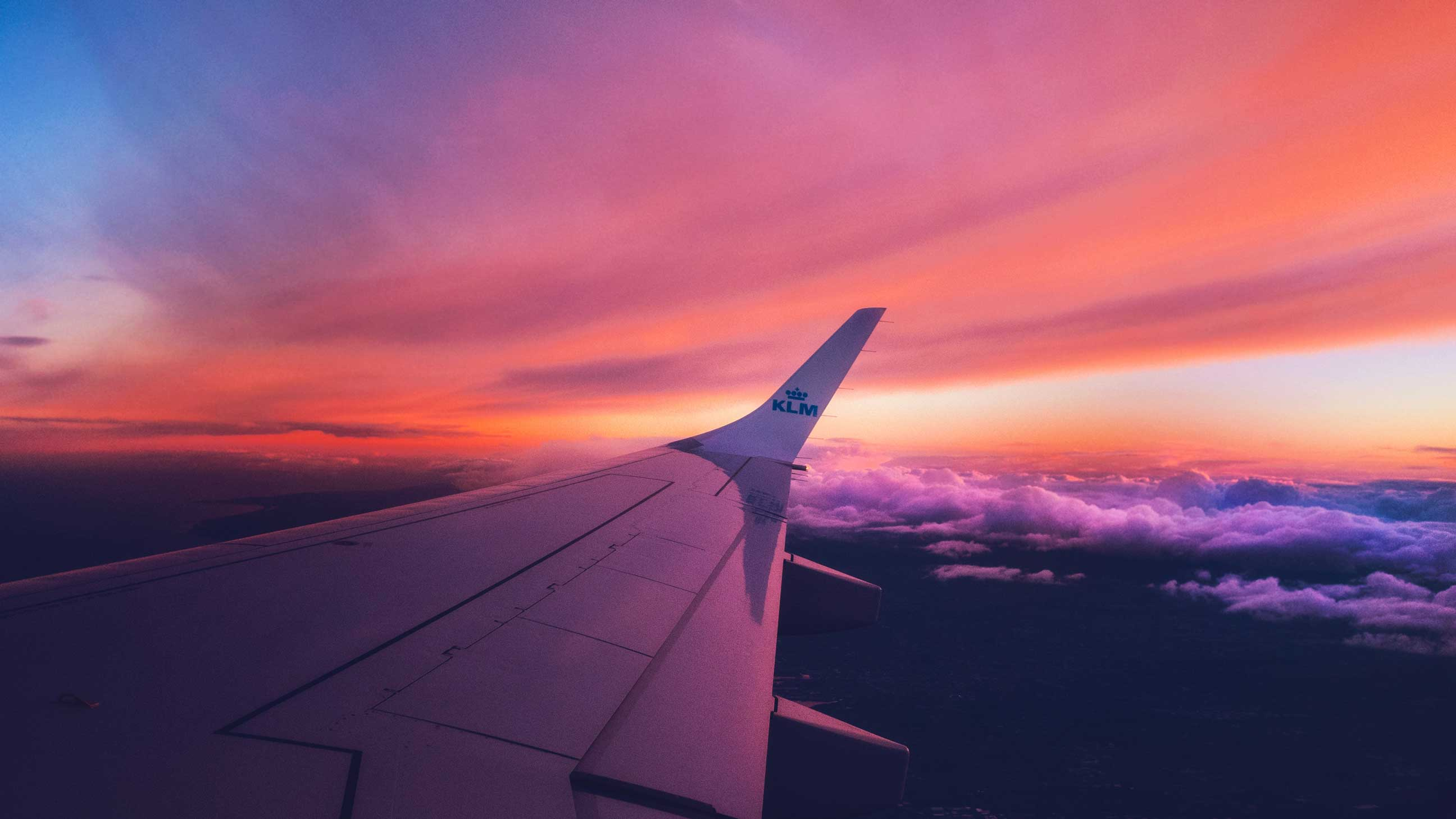 avion en vol pour le Yunnan