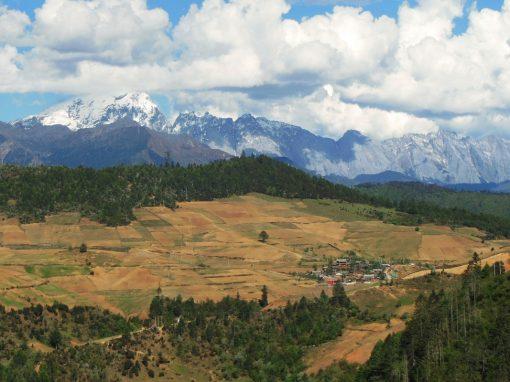 Yunnan-Montagne-Chine